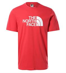 The North Face S/S Easy Tee Rococco heren shirt rood
