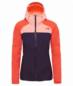 The North Face Stratos Jacket dames zomerjas koraal
