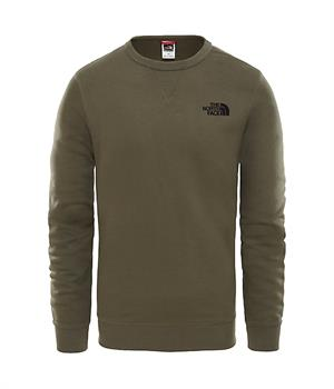 The North Face Street Fleece Heren casual sweater donkergroen