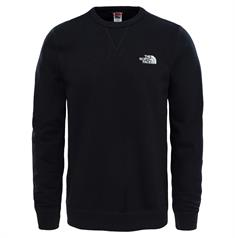 The North Face Street Fleece Pullover heren casual sweater zwart