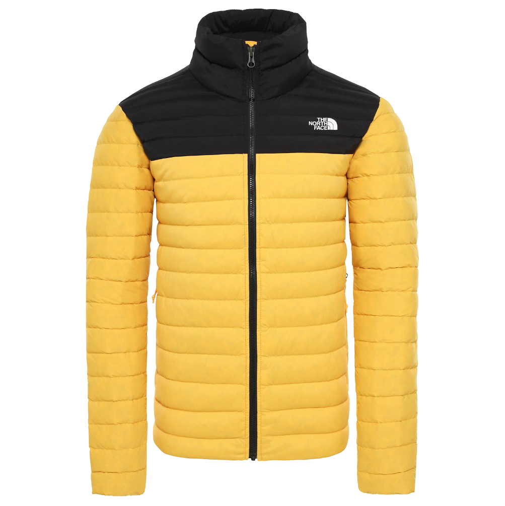 The North Face Stretch Down Jacket heren casual jas geel