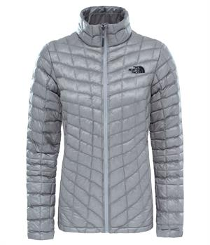 The North Face Thermoball Jacket Dames all season jas midden grijs