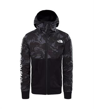 The North Face Tnl Ovly Jacket Heren casual sweater ZWART