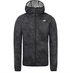 The North Face Train N Logo Wind Jacket heren zomerjas antraciet