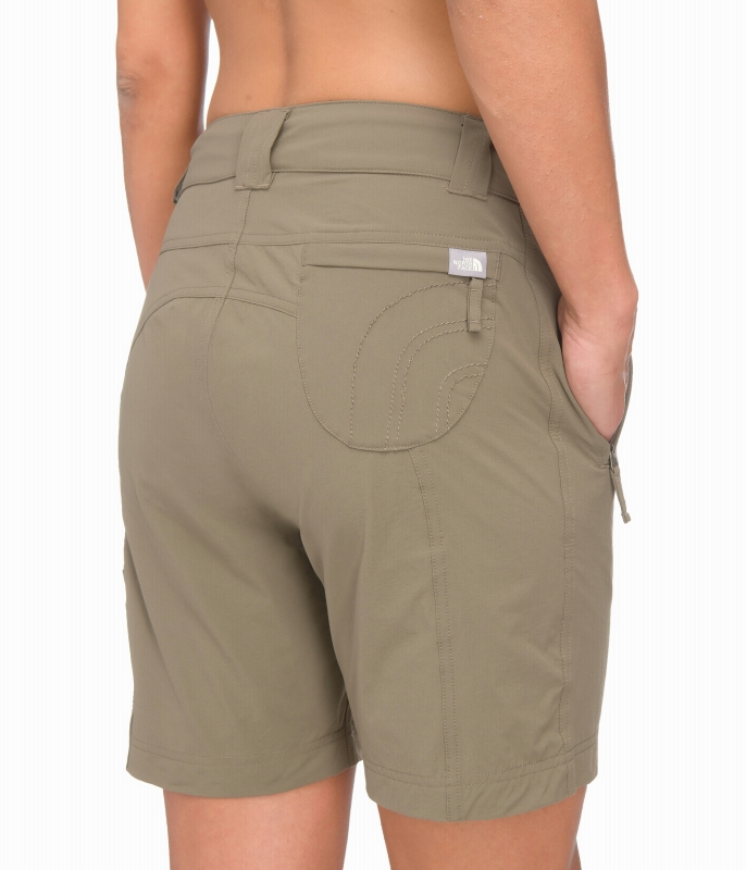Korte Broek Dames Outdoor.The North Face Trekker Short Dames Short Lichtbruin Van Shorts