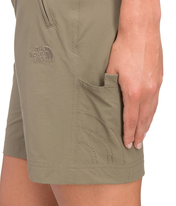 rozmiar 7 połowa ceny dostępność w Wielkiej Brytanii The North Face Trekker Short dames short lichtbruin