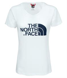 The North Face Woman S/S Easy Tee dames shirt wit