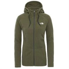The North Face Women's Mezzaluna Full Zip dames fleece groen