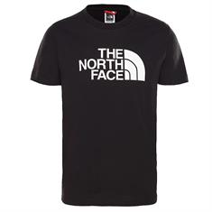 The North Face Y S/S EASY TEE jongens shirt zwart