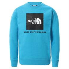 The North Face Youth Box Crew jongens casual sweater marine