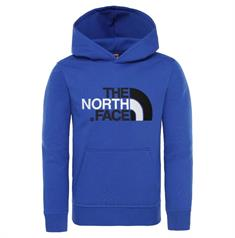 The North Face Youth Drew Peak PO Hoodie jongens casual sweater kobalt