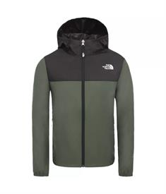 The North Face Youth Reactor Wind Jacket junior zomerjas groen