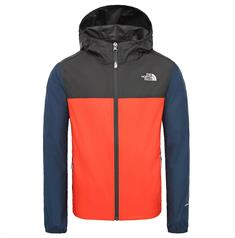 The North Face Youth Reactor Wind Jacket junior zomerjas rood