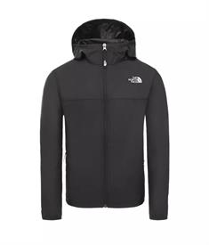 The North Face Youth Reactor Wind Jacket junior zomerjas zwart