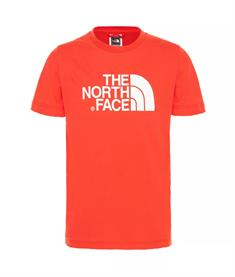 The North Face Youth S/S Easy Tee jongens shirt rood