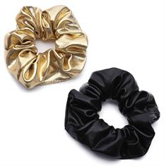 TheSportfashion Scrunchies Black Gold haarbandjes groen