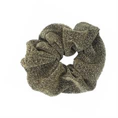 TheSportfashion Scrunchies Glitter haarbandjes midden grijs