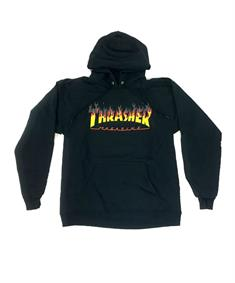Thrasher Bbq hood heren sweater zwart