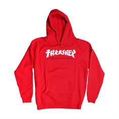 Thrasher heren sweater rood