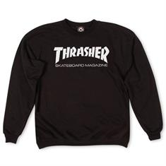 Thrasher heren sweater zwart