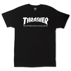 Thrasher Trhasher Skate Mag heren shirt zwart