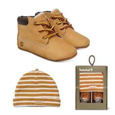 Timberland Crib Bootie + Muts baby schoenen lichtbruin