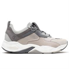 Timberland Delphille dames sneakers midden grijs