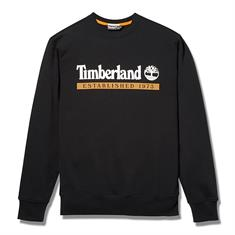 Timberland Estab. 1973 Crewneck heren casual sweater zwart