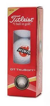 Titleist DT Trusoft 3Ballen golfballen wit