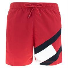 Tommy Hilfiger Medium Drawstring heren beach short rood