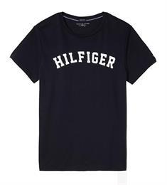 Tommy Hilfiger SS Tee Logo heren shirt marine