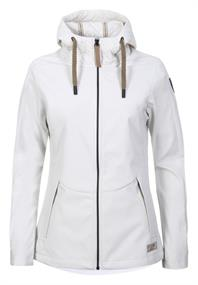 Torstai Meribel dames soft shell jas ecru