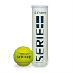 Tretorn PLUS Serie 4 Ballen tennisballen geel