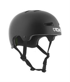 TSG Evolution Satin Black bmx/skate helm zwart