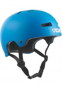 TSG Evolution Satin Dark Cyan bmx/skate helm kobalt
