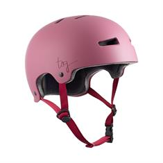 TSG Evolution Satin Mint bmx/skate helm rose
