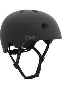 TSG Meta Satin Black bmx/skate helm zwart