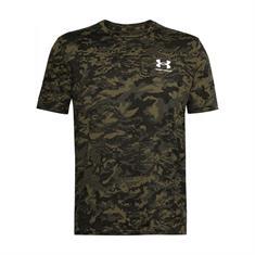 Under Armour ABC Camo Short Sleeve heren sportshirt zwart dessin