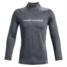 Under Armour Coldgear Armour Fitted Twist Mock heren sportsweater grijs
