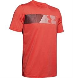 Under Armour Fast Left Chest Short Sleeve heren sportshirt geel