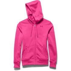 Under Armour Fleece FullZip Hoody dames sportsweater pink