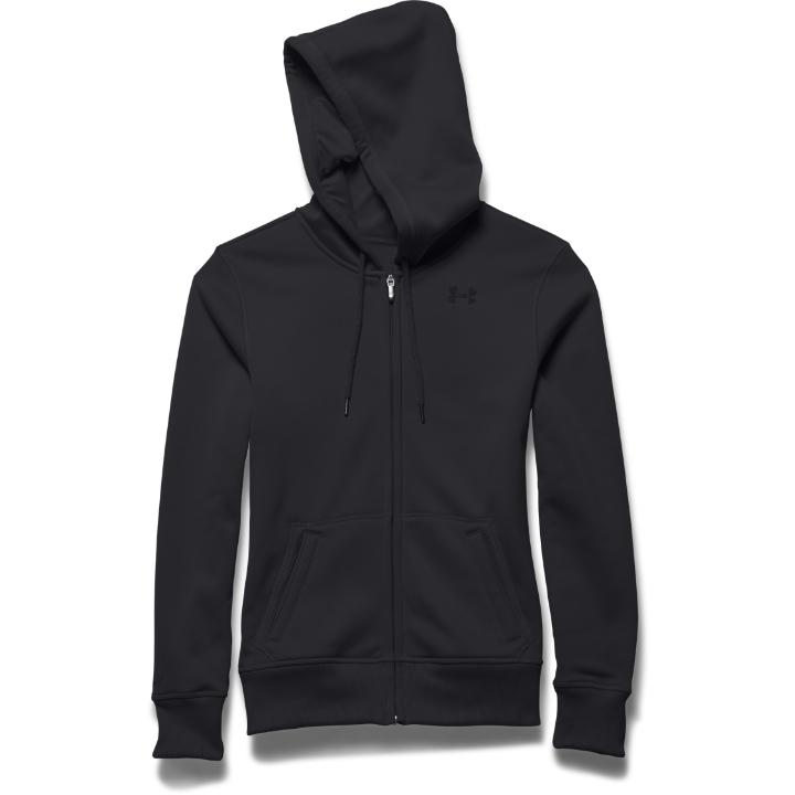 Dames sport sweater Under Armour Fleece FullZip Hoody
