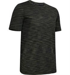 Under Armour Heat Gear Short Sleeve heren sportshirt groen