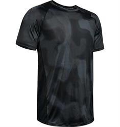 Under Armour Heat Gear Short Sleeve heren sportshirt zwart