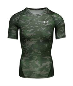 Under Armour HeatGear? Armour Camo heren compressie shirt groen