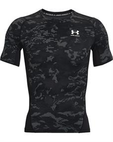 Under Armour HeatGear? Armour Camo heren compressie shirt zwart dessin