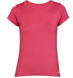 Under Armour HG Armour SS dames sportshirt fuchsia