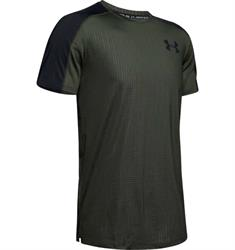 Under Armour MK-1 Short Sleeve heren sportshirt groen