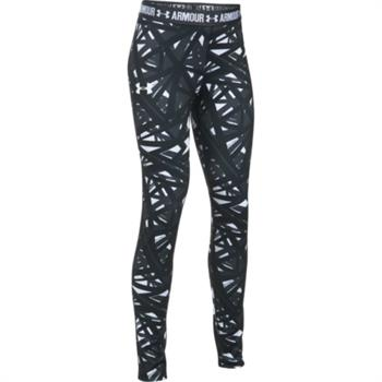Under Armour Printed Legging Meisjes sportbroek grijs dessin