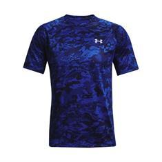 Under Armour Rival Fleece Camo Script Joggers heren sportshirt blauw